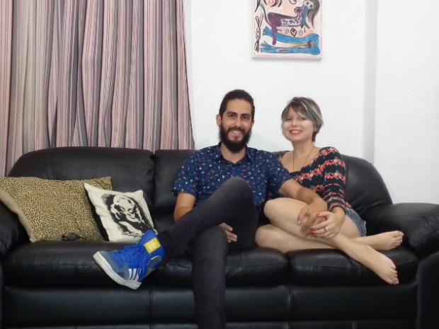 Juliano e Nathalie saíram da casa dos pais para morar juntos (Foto: Arquivo Pessoal)