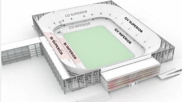 Arena da baixada Estádio Atlético-PR (Foto: Site oficial do Atlético-PR/Divulgação)