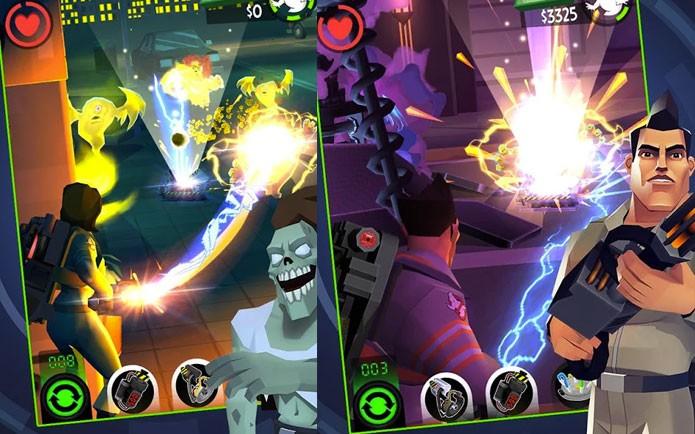 Ghostbusters: Slime City é game mobile (Foto: Divulgação/Activision)