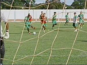 Gurupi treina com tranquilidade para enfrentar o Guaraí pela sexta rodada do estadual (Foto: Reprodução/TV Anhanguera)