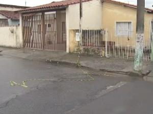Local onde os homicídios aconteceram durante a madrugada. (Foto: Reprodução/ TV Vanguarda)