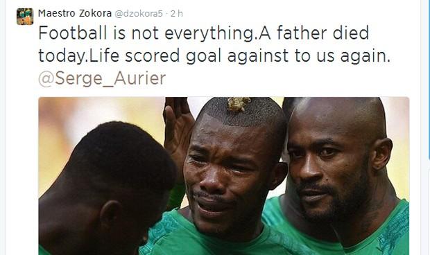 Zokoro esclareceu a confusão em seu perfil no Twitter (Foto: Reprodução /Twitter)