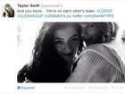 Taylor Swift comemora vitória de Lorde no Grammy em rede social