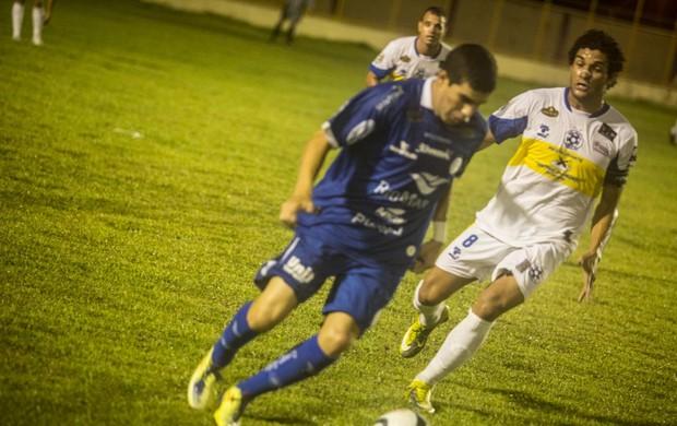 Confiança cedeu o empate no último minuto (Foto: Filippe Araújo/FSF)