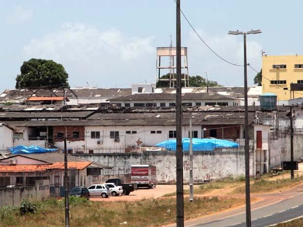 Complexo Penitenciário de Pedrinhas, em São Luís. (Foto: Biaman Prado/O Estado)