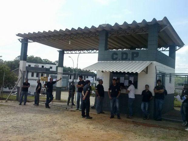 Agentes penitenciários aderem greve em três cidades do Vale do Paraíba (Foto: Paula Alvares/TV Vanguarda)