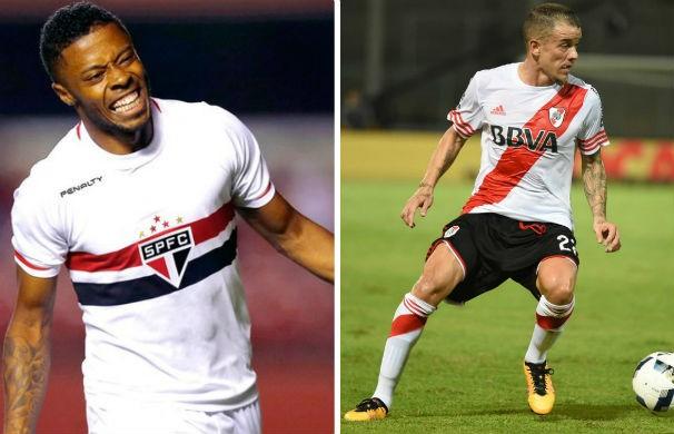 São Paulo joga contra o River Plate pela Libertadores (Foto: montagem/GE)