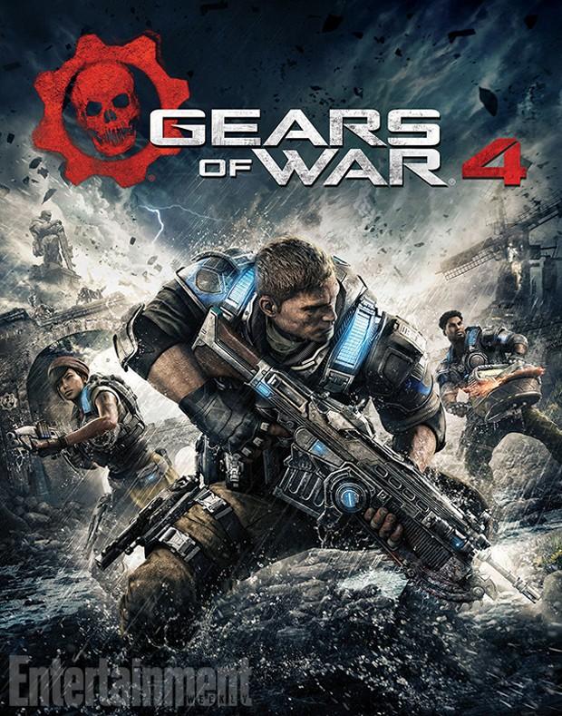 Capa de 'Gears of War 4' foi divulgada pela revista 'Entertainment Weekly' (Foto: Reprodução/Entertainment Weekly)