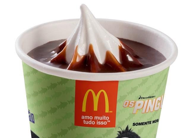 Sundae do McDonald's (Foto: Divulgação/Vigor)