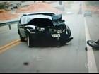 'Vejo as imagens e passo mal', diz motociclista atingido por carro