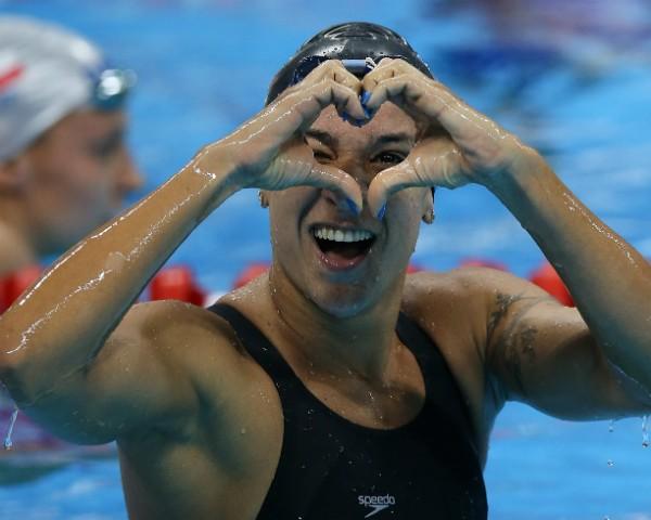 A nadadora de Recife Joanna Maranhão (Foto: Getty Images)