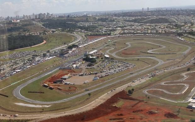 Autódromo internacional de Goiânia - Ayrton Senna (Foto: Reprodução)