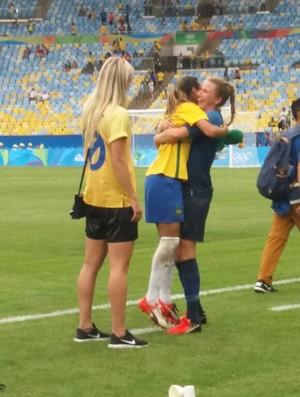 Marta seleção brasileira feminina futebol olimpíada (Foto: Juliana Travaglia)