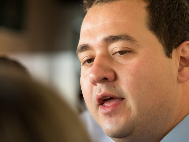 Ricardo Silva é o candidato do PDT à prefeitura de Ribeirão Preto, SP (Foto: Érico Andrade/G1)