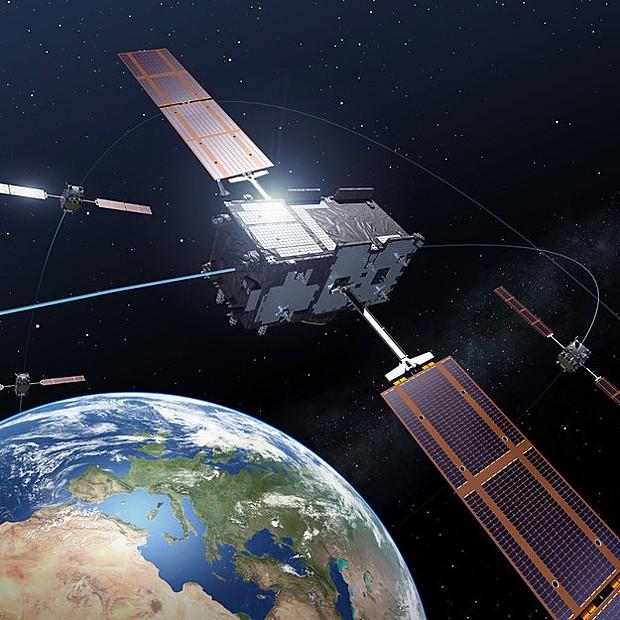 Satélites europeus do programa Galileo devem ser lançados no 2º semestre para concorrer com sistema GPS (Foto: ESA/P. Carril/Divulgação)