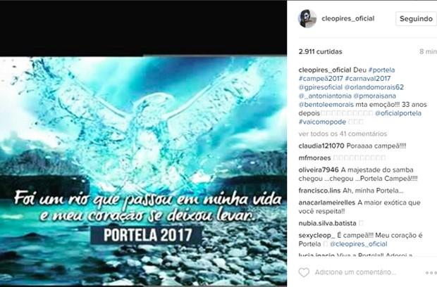Cléo Pires (Foto: Reprodução / Instagram)