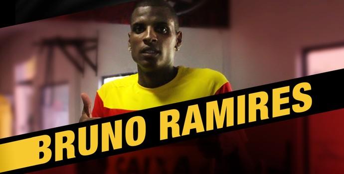 Bruno ramires é anunciado pelo Vitória (Foto: Divulgação / E.C. Vitória)