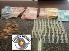 Traficante de drogas é preso com entorpecentes e dinheiro em Itu