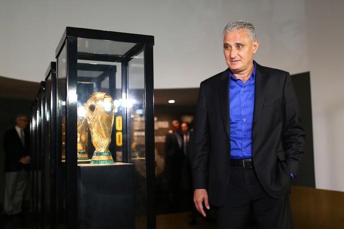 Tite Museu da CBF (Foto: Lucas Figueiredo / MoWA Press)