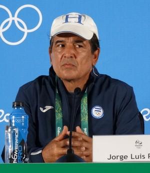 Jorge Luis espera fazer história com a seleção de Honduras (Foto: Maurício Paulucci)
