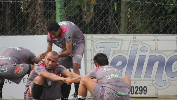 treino figueirense cft (Foto: Paulo Evangelista)
