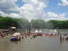 Praias artificiais do Lago de Itaipu e do norte estão próprias para banho