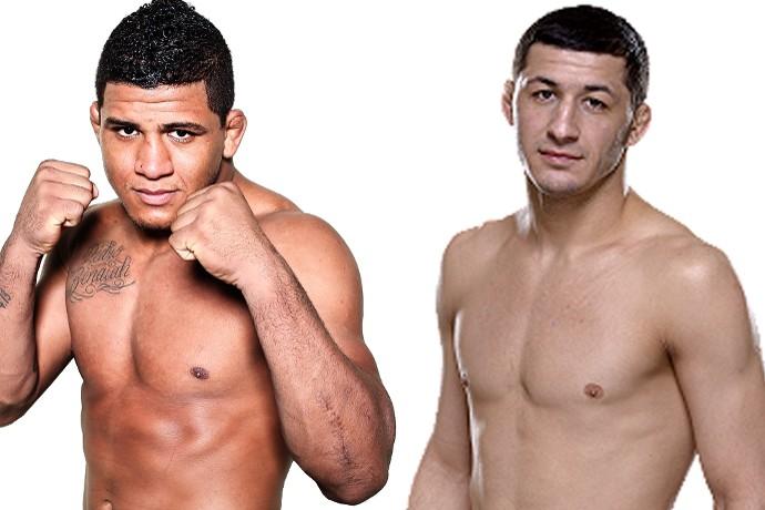Gilbert Durinho x Rashid Magomedov, UFC (Foto: Montagem: Infoesporte)