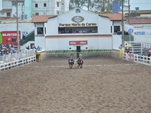Shows e competições ocorrem no Parque Maria do Carmo (Foto: Divulgação)
