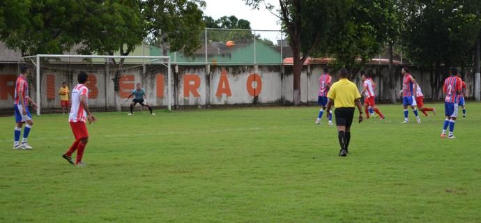 Náutico-RR perde em casa para o Plácido de Castro (Foto: Bruno Willemon)