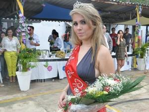Vencedora Miss Primavera em presídio de Campo Grande MS (Foto: Fernando da Mata/G1 MS)