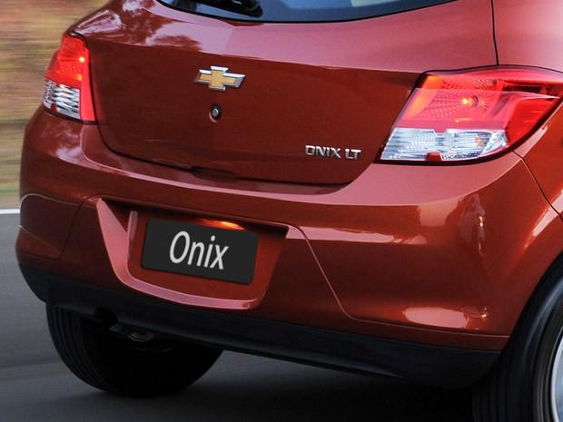 Chevrolet Onix como é atualmente (Foto: Divulgação)