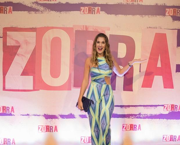Karina Dohme fala sobre novo formato do Zorra (Foto: Tata Barreto / TV Globo)