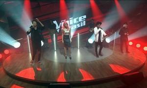 Quatro finalistas do The Voice Brasil cantam 'Monte Castelo' no Fantástico