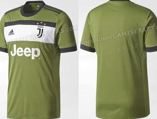 BLOG: Inspirada em desenho de torcedora, terceira camisa da Juve será verde