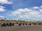 Ato contra câncer infantil reúne PRF e mil motociclistas em 'motosseata'
