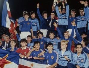 Iugoslávia campeã mundial sub-20 1987