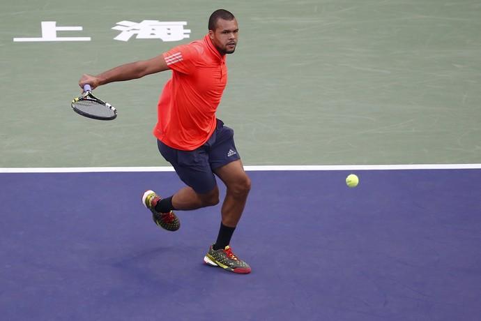 Tsonga caiu diante de Djokovic na decisão da China (Foto: Reuters)