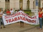 Protesto pede liberdade a suspeitos de racha que terminou com 2 mortes