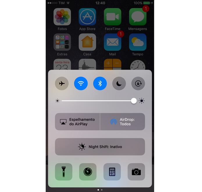 Novos recursos do iOS 10 (Foto: Reprodução/Lucas Mendes)