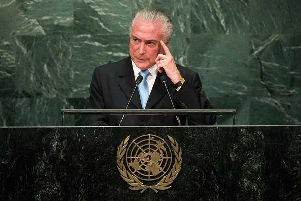 Michel Temer (Foto: Getty Images)