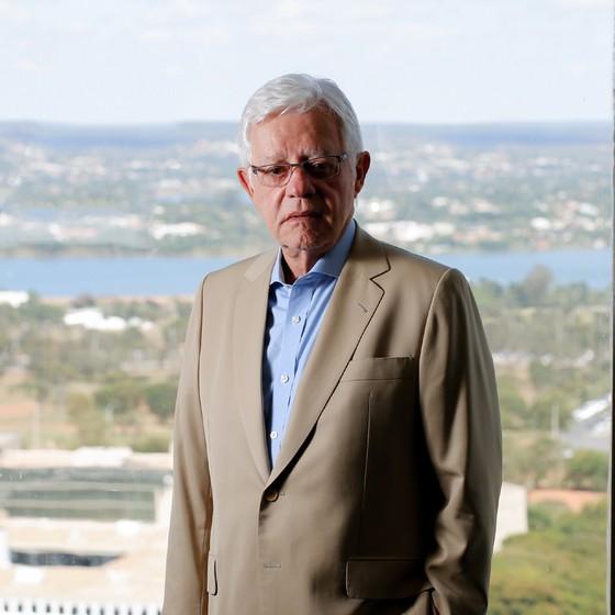 Moreira Franco Secretário Especial da Presidência da Rapública  para o Programa de Parcerias de Investimento (Foto: Sérgio Lima/ÉPOCA)