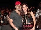 Zezé Di Camargo prestigia a filha em estreia no Rio e diz que está solteiro