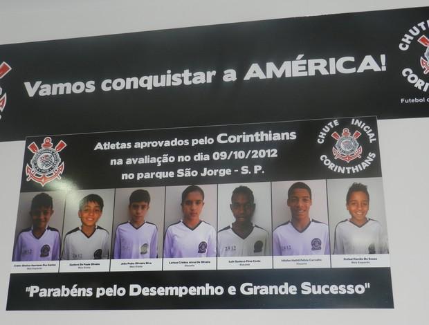 Sete uberlandenses são revelados pelo Corinthians neste ano (Foto: Caroline Aleixo/GLOBOESPORTE.COM)