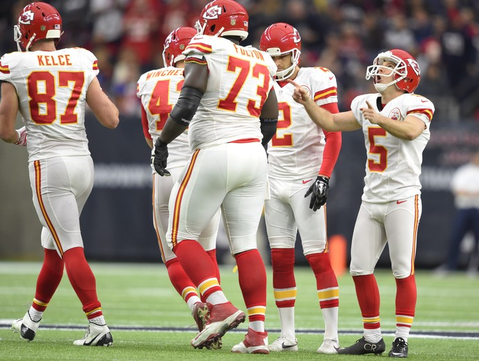 Cairo Santos - Kansas City Chiefs x Houston Texans - NFL playoffs (Foto: Reuters)