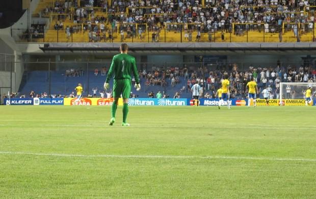 Diego Cavalieri, Seleção Brasileira na Bombonera (Foto: Marcio Iannacca / Globoesporte.com)