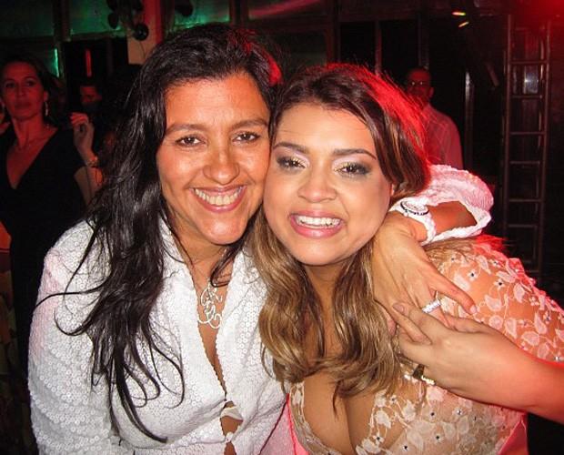 Preta Gil e Regina Casé  (Foto: Esquenta / TV Globo)