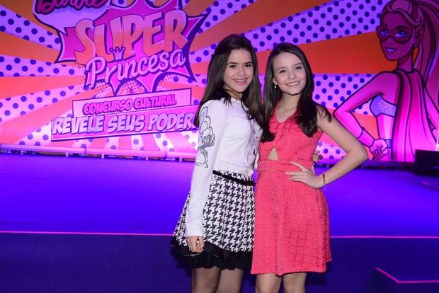 6aff1c32cd4b2 Maisa Silva e Larissa Manoela (Foto  Leo Franco   AgNews)