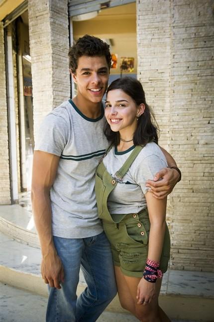 Matheus Abreu e Gabriela Medvedovski como Tato e Keyla (Foto: Globo/João Miguel Júnior)