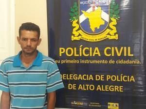 Mandado de prisão contra Perivaldo Pereira de Sousa foi cumprido nesta segunda (12) (Foto: Polícia Civil/Divulgação)