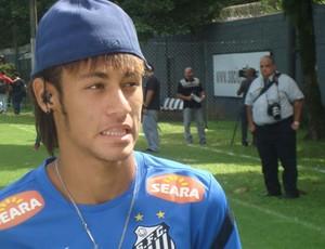 Neymar CT Rei Pelé (Foto: Bruno Gutierrez)